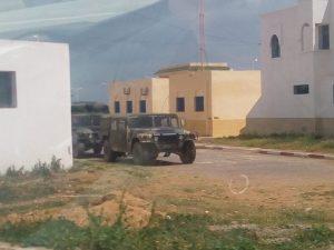 إنتشار لآليات الجيش بالجهة الشرقية على الحدود مع الجزائر