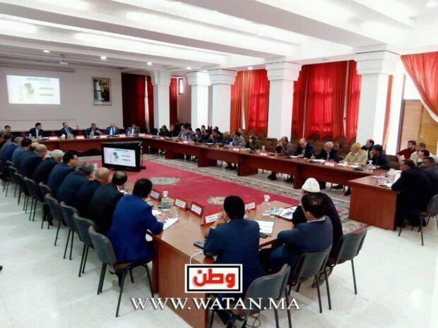 تارودانت : إجتماع اللجنة الإقليمية للمراعي ليوم 2019/3/25 تحت إشراف عامل الإقليم السيد الحسين أمزال