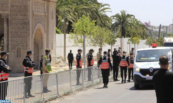 بهذا الشكل تم تشييع جثمان عبدالرحمان اليوسفي بمقبرة الشهداء