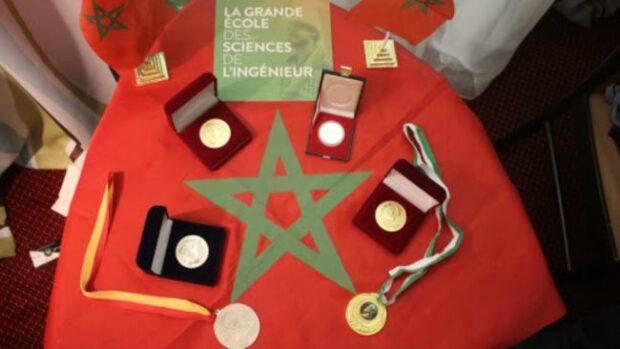 """المدرسة المغربية لعلوم المهندس (الإمسي) تتوج بالجائزة الكبرى  """"بأسبوع الابتكار في إفريقيا 2020 """""""