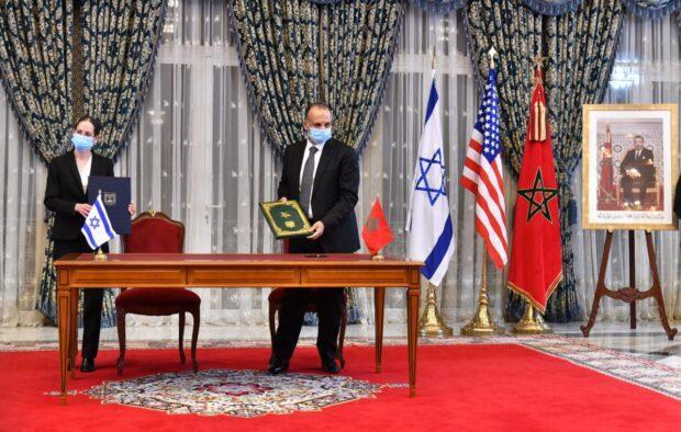 الاتفاقيات الاربعة الموقعة بين المغرب واسرائيل