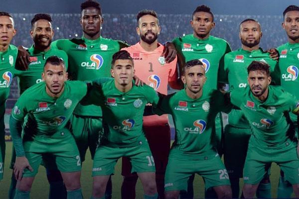 نادي الرجاء البيضاوي يحقق رقم مميز بالدوري المغربي