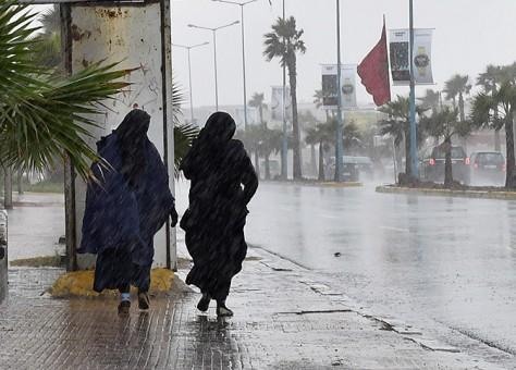 تحذير … أمطار رعدية الأربعاء والخميس بهذه المناطق والمدن