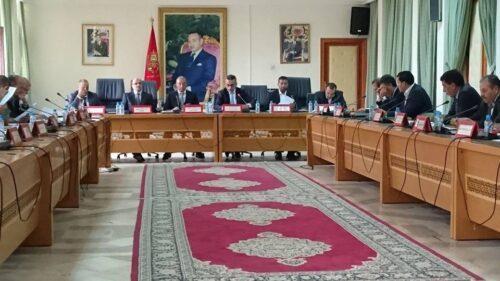 تيزنيت :المجلس الاقليمي يتداول حول تدعيات مشاريع استغلال الرخص المعدنية بتراب الاقليم