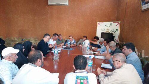 المجلس الجماعي لأملن يعقد  دورة أكتوبر و يصادق على إتفاقيات شراكة
